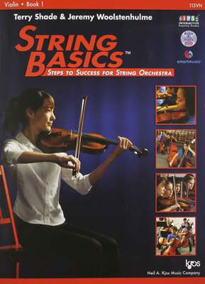 String Basics, Book 1 Violin - Steps to Success for String Orchestra - Jeremy Woolstenhulme|Terry Shade - Violin Neil A. Kjos Music Company /DVD