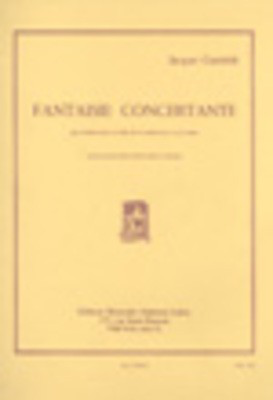 Fantaisie Concertante - for Bass Trombone or Tuba and Piano - Jacques Casterede - Bass Trombone|Tuba Alphonse Leduc