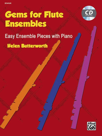 Gems for Flute Ensemble Book/CD - Butterworth Helen - Alfred Music