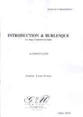 Introduction And Burlesque Trb/Pno - Robert Eaves - Trombone G & M Brand