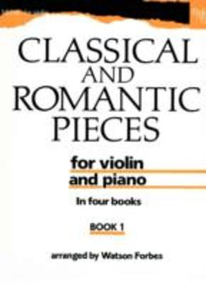 Classical and Romantic Pieces for Violin Book 1 - Various - Violin Oxford University Press