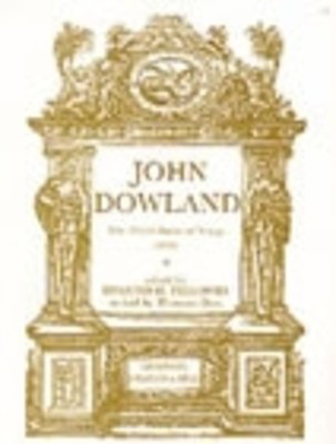 Third Booke Of Songs (1603) Lutesongs - for lute - John Dowland - Classical Guitar Stainer & Bell Vocal Score