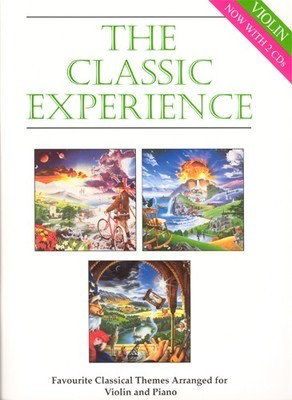 The Classic Experience - Violin with 2 CDs - Various - Violin - Jerry Lanning Cramer Music