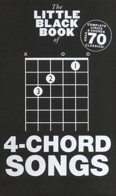 The Little Black Book of 4-Chord Songs - Guitar|Vocal Wise Publications Lyrics & Chords - Adlib Music