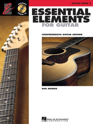 Essential Elements for Guitar - Book 2 - Guitar Bob Morris Hal Leonard Guitar Solo /CD