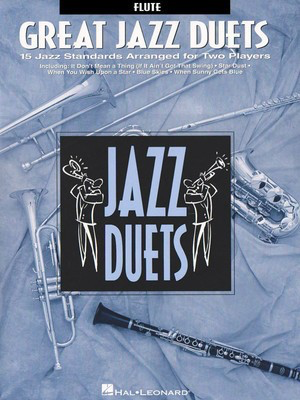 Great Jazz Duets - Alto Sax - 15 Jazz Standards Arranged for Two Players - Various - Alto Saxophone Hal Leonard Saxophone Duet