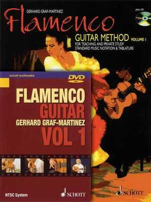 Flamenco Guitar Method - for Teaching and Private Study - Classical Guitar|Guitar Gerhard Graf-Martinez Schott Music Guitar TAB /CD