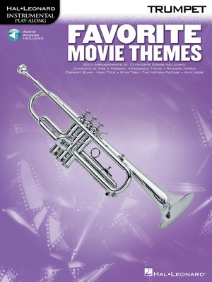 Favorite Movie Themes - Trumpet - Various - Trumpet Hal Leonard - Adlib Music