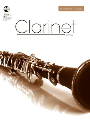 Clarinet Series 3 - Preliminary Grade - Clarinet AMEB - Adlib Music