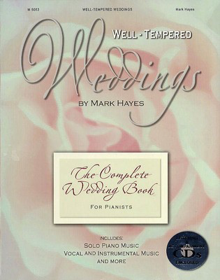 Well-Tempered Weddings - Boxed Set - Various - Mark Hayes Shawnee Press Piano, Vocal & Guitar