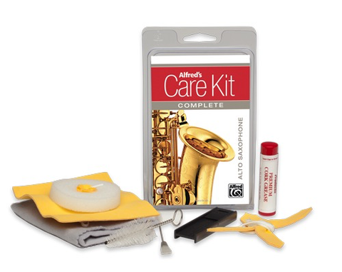 Care Kit Complete Alto Saxophone - Alfred Music