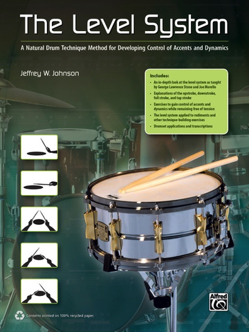 THE LEVEL SYSTEM - SNARE DRUM - JEFF W JOHNSON - Alfred Music