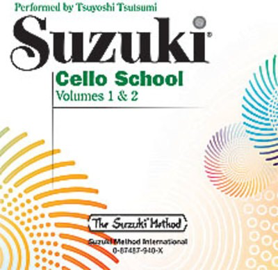 Suzuki Cello School CD, Volume 1 & 2 - Cello Summy Birchard CD - Adlib Music