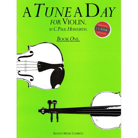 Tune a Day Book 1 - Violin by Herfurth BT08860