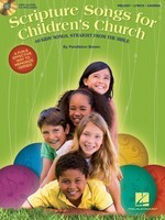 Scripture Songs for Children's Church - 40 Kids' Songs Straight from the Bible - Pendleton Brown Hal Leonard Lead Sheet /CD