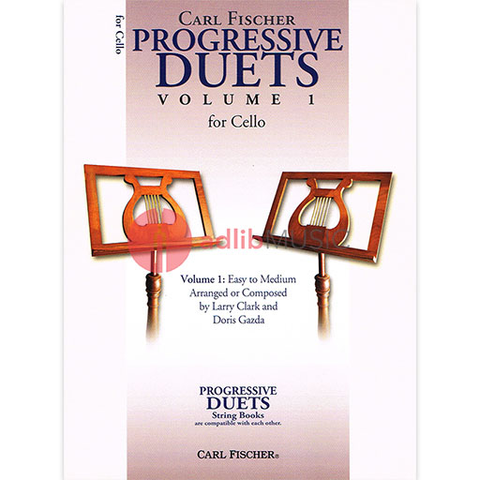 Progressive Duets Volume 1 for Cello - Various - Carl Fischer