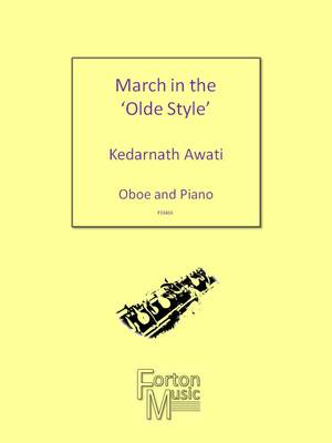 March in the Olde Style - Oboe and Piano - Kedarnath Awati - Oboe Forton Music