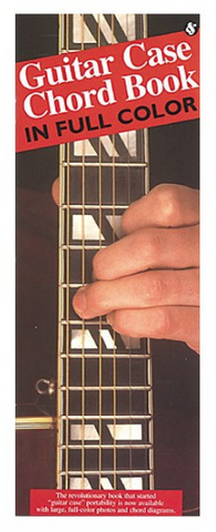 Guitar Case Chord Book in Full Colour - Guitar - Wise Publications