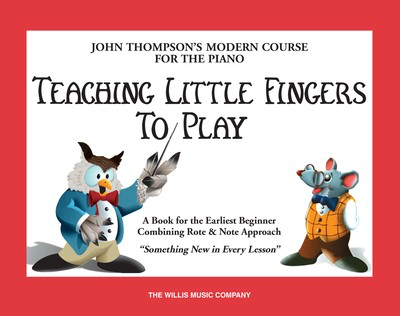 Teaching Little Fingers to Play - Book Only - Piano John Thompson Willis Music - Adlib Music