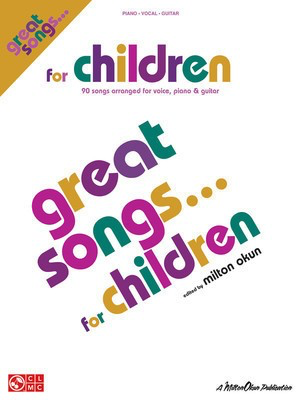 Great Songs for Children - P/V/G Mixed Folio - Guitar|Piano|Vocal Cherry Lane Music Piano, Vocal & Guitar