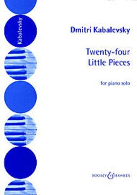 24 Little Pieces Op. 39 - Dmitry Kabalevsky - Piano Martin Hall Boosey & Hawkes - Adlib Music