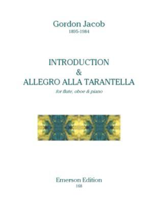 Introduction & Allegro Alla Tarantella - for flute, oboe and piano - Gordon Jacob - Flute|Oboe|Piano Emerson Edition