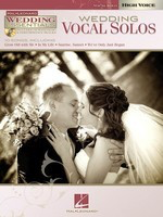Wedding Vocal Solos - Wedding Essentials Series for High Voice - Vocal High Voice Hal Leonard Performance/Accompaniment CD /CD
