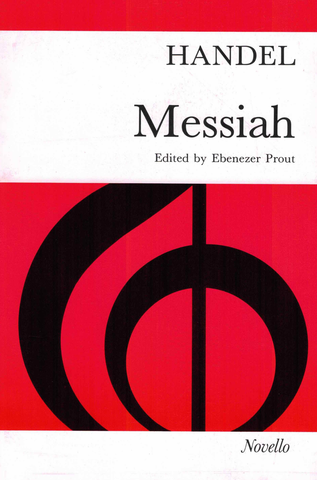 Handel - Messiah - SATB Vocal Score Novello NOV070134
