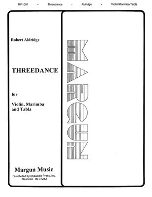 Threedance - Robert Aldridge - Marimba|Percussion|Violin Margun Music Trio