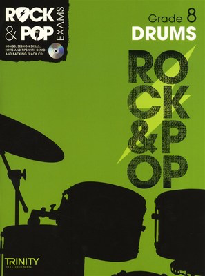 Rock & Pop Exams: Drums - Grade 8 - Book with CD - Drums Trinity College London /CD
