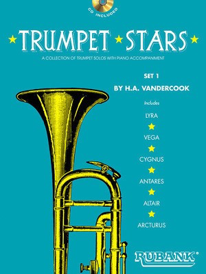 Trumpet Stars - Set 1 - Book/CD Pack - Various - Hale A. Vandercook Rubank Publications /CD