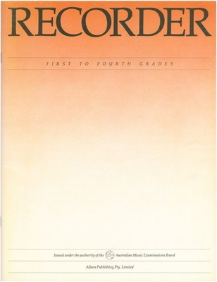 Recorder - First to Fourth Grades - Recorder AMEB - Adlib Music