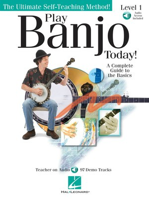 Play Banjo Today! Level One - A Complete Guide to the Basics - Banjo Colin O'Brien Hal Leonard Banjo TAB /CD