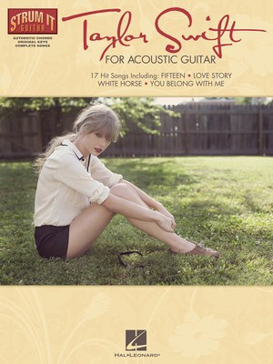 Taylor Swift for Acoustic Guitar - Guitar|Vocal Hal Leonard Melody Line, Lyrics & Chords - Adlib Music