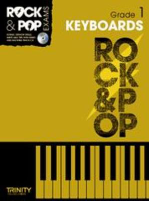 Rock & Pop Exams: Keyboards - Grade 1 - Book with CD - Keyboard|Piano Trinity College London /CD