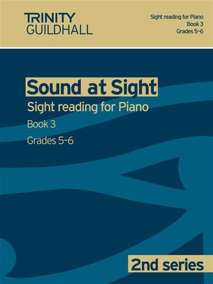 Sound at Sight - Piano Book 3: Grades 5-6 - Sight reading for Piano. 2nd series - Piano Trinity College London