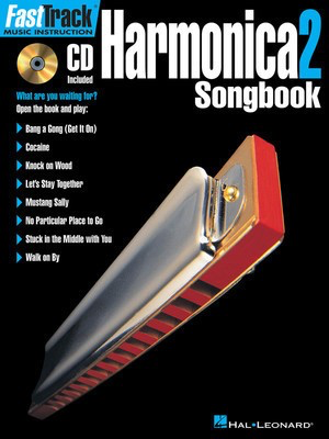 FastTrack Harmonica Songbook - Level 2 - Harmonica Hal Leonard /CD