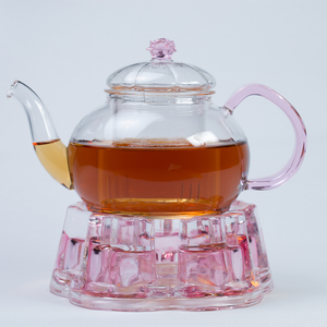Glass Teapot Candle Warmer - Tea Cottage