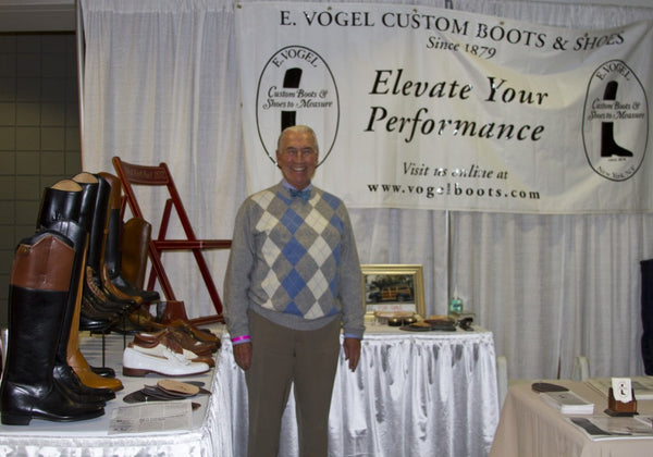 Meeting Mr. Vogel at the Washington International Horse Show 2012