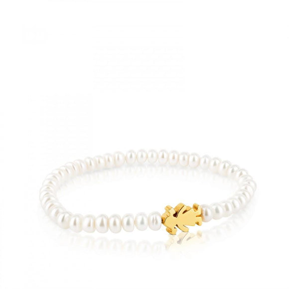 Tous Gold Sweet Dolls Bracelet 15901040