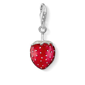 Thomas Sabo Charm Club Sterling Silver Strawberry Charm 0451-007-10