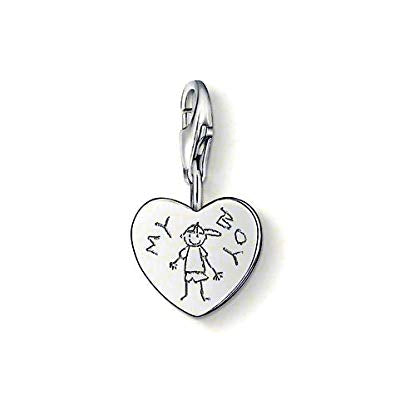 Thomas Sabo Charm Club Special Occasions Sterling Silver 925 Charm 0785-001-12