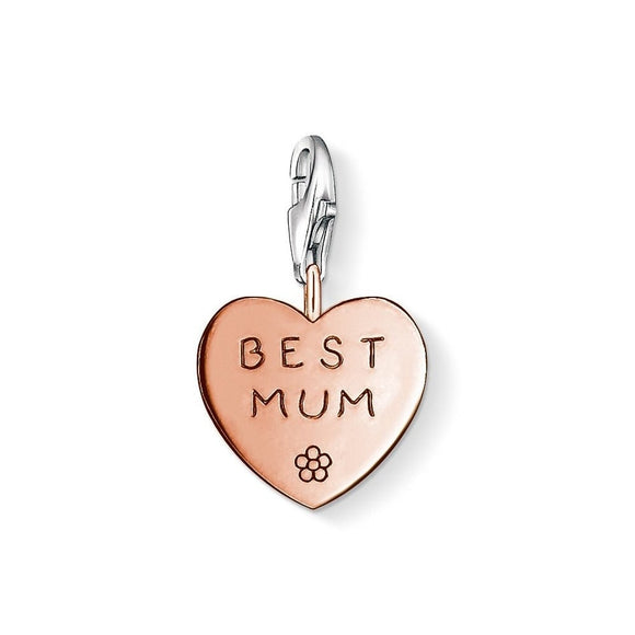 Thomas Sabo Best Mum Charm 0972-415-12
