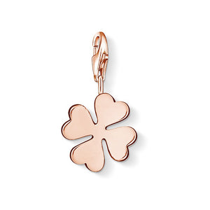 Thomas Sabo Rose Gold Cloverleaf Charm 1020-415-12