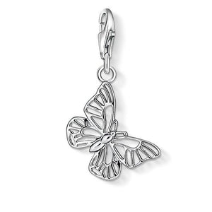 "Thomas Sabo Charm Pendant ""Butterfly"" 1038-001-12"