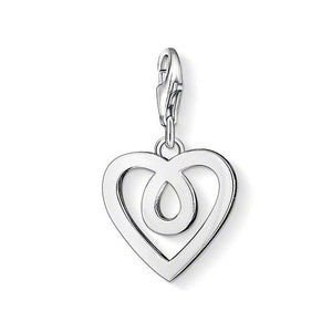 Thomas Sabo Sterling Silver Infinity Heart Charm 1041-001-12