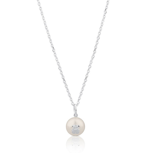 Tous Silver Sweet Dolls Necklace 517094500