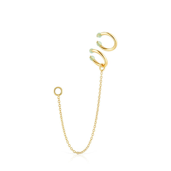 Tous Batala Earcuff Pack in Gold Vermeil with Quartzite 918543660