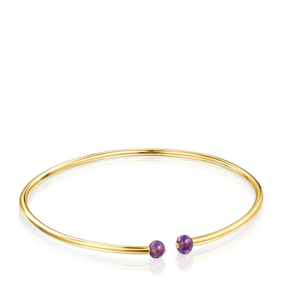 Tous Batala Bracelet in Gold Vermeil with Amethyst 918541540