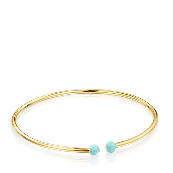 Tous Batala Bracelet in Gold Vermeil with Howlite 918541560